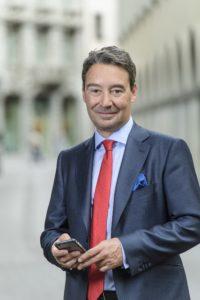 LUGANO - 12.05.2017 - Serge Pavoncello, nouveau président de l'ASG.  Photo by Béatrice Devènes